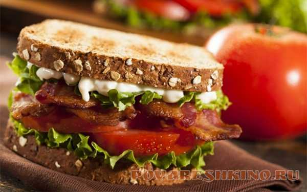 простые рецепты бутербродов из тостового хлеба на завтрак